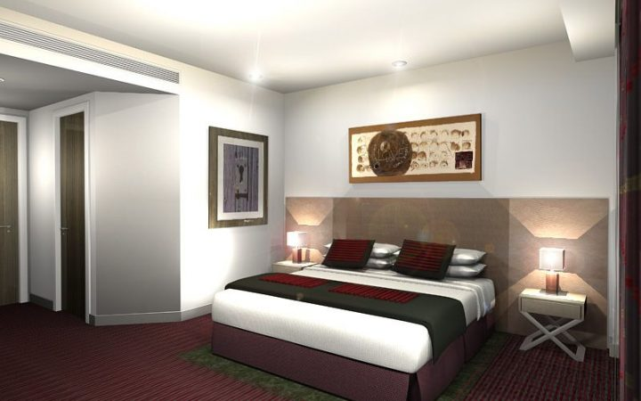Bedrooms & Corridors for Cardiff Park Plaza Hotel